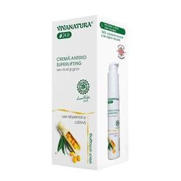 Cremă Antirid Superlifting ten mixt și gras VivaNatura 45 ml de la esteto.ro