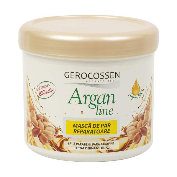 Masca de Par Reparatoare Argan Line Gerocossen, 450 ml poza