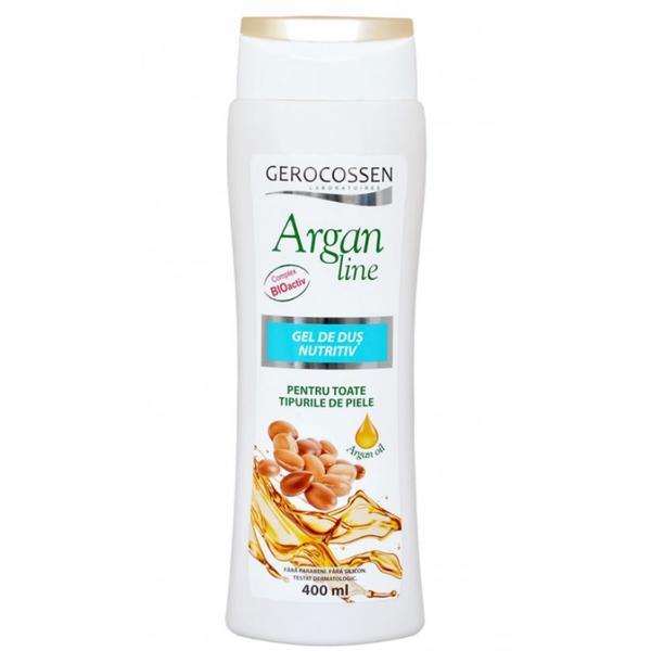 Gel de Dus Nutritiv Argan Line Gerocossen, 400 ml poza