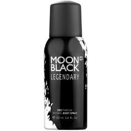 Deodorant Spray Moon Black Legendary Florgarden, Barbati, 100ml