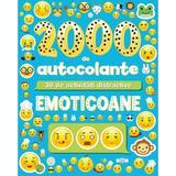 Emoticoane. 2000 de autocolante. 36 de activitati distractive, editura Litera