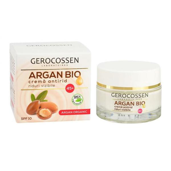 Crema Antirid 45+ Argan Bio Gerocossen, 50 ml poza