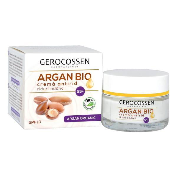 Crema Antirid 55+ Argan Bio Gerocossen, 50 ml poza