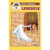 Lebedele. Carte de citit si de colorat - H.Ch. Andersen, editura Andreas