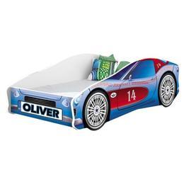 Pat Tineret MyKids Race Car 02 Blue-160x80