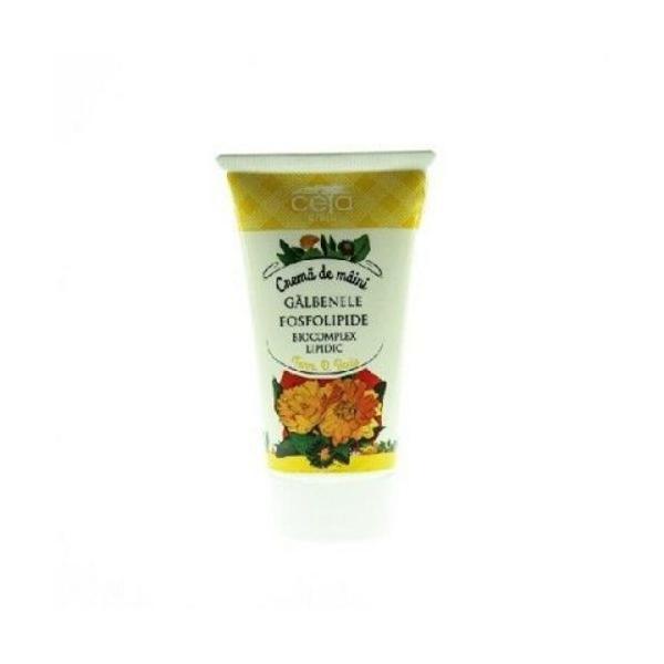 Crema Maini Galbenele&Fosfolipide Ceta, 50ml imagine produs
