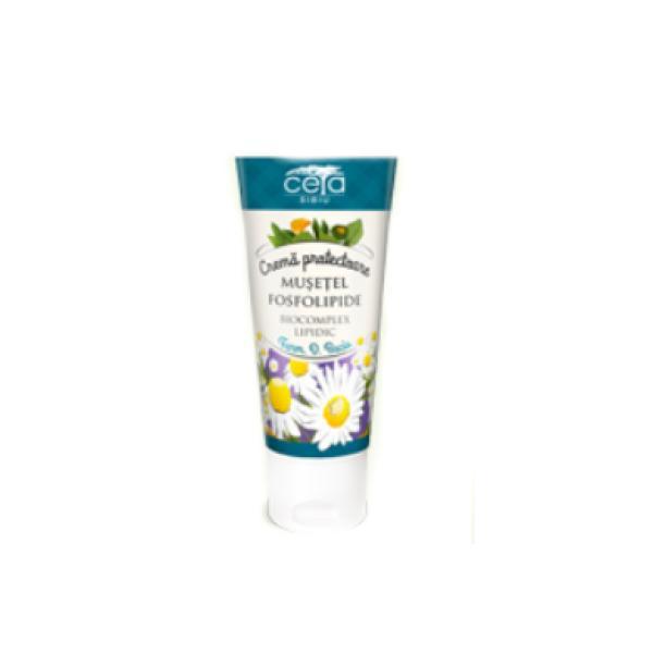 Crema Protectoare Musetel&Fosfolipide Ceta, 50ml imagine produs