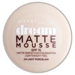 Fond De Ten Maybelline NY Dream Matte Mousse - Light Porcelain, 10 g