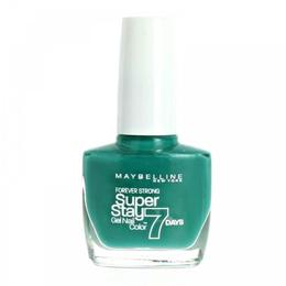 Lac de unghii Maybelline NY Superstay 7 Days - 605 Greenwich Hyper Jade, 10 g