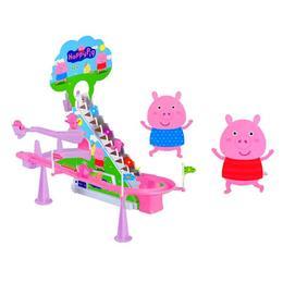 Set de constructie Purcelusul fericit cu lumini si sunete - Peppa Pig