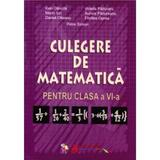 Culegere de matematica pentru clasa a 6-a- Ioan Dancila, Violeta Paduraru, Marin Ion, Aurora Padureanu, editura Aramis