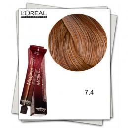 Vopsea Permanenta - L'Oreal Professionnel Majirel Ionene G Incell 7.4 blond aramiu