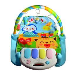Saltea bebelusi cu pian, proiector - centru de activitati 5 in 1 si control la distanta - Smart Baby