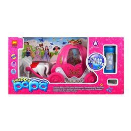 Caleasca fermecata face baloane cu sunete si lumini - Peppa Pig