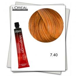 Vopsea Permanenta - L'Oreal Professionnel Majirouge Carmilane 7.40 blond cupru