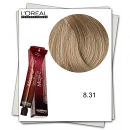 Vopsea Permanenta - L'Oreal Professionnel Majirel Ionene G Incell 8.31 blond deschis auriu cenusiu