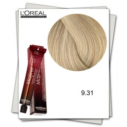 Vopsea Permanenta - L'Oreal Professionnel Majirel Ionene G Incell 9.31 blond foarte deschis auriu cenusiu