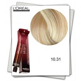 Vopsea Permanenta - L'Oreal Professionnel Majirel Ionene G Incell 10.31 blond f foarte deschis auriu