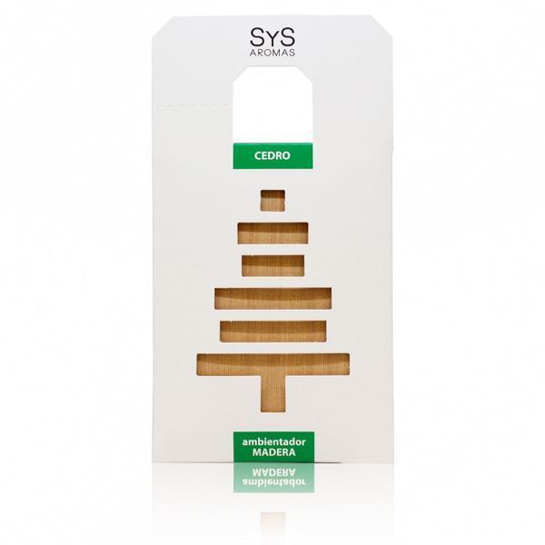 Odorizant auto lemn parfumat Laboratorio SyS Aromas, Cedru esteto.ro