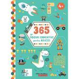 365 de jocuri educative pentru baietei 4 ani+, editura Paralela 45