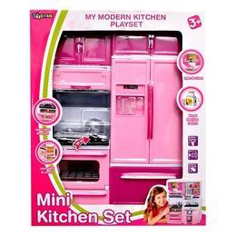 Mini bucatarie electronica pentru copii cu 2 corpuri - Chaofeng Toys