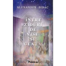 Intre ziduri de vise si ceata - Alexander Bibac, editura Kron Art