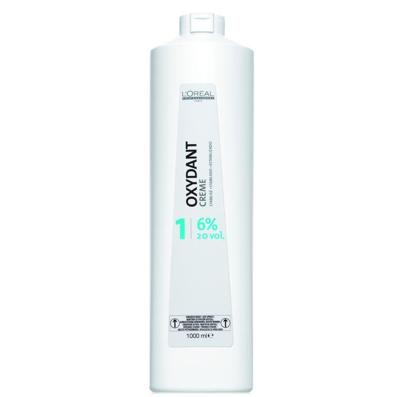 Oxidant 6 % - L'Oreal Professionnel Oxydant Creme 20 vol 1000 ml imagine produs