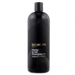 Sampon pentru Par Uscat - Label.m Honey & Oat Shampoo 1000 ml