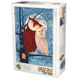 Puzzle 1000 Kurti Andrea: Owl Tales