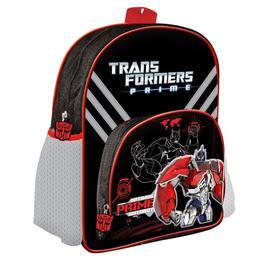 Ghiozdan Transformers, 2 compartimente, 30x25x12 cm