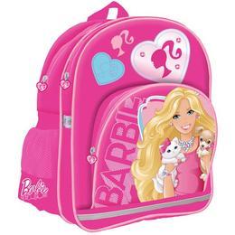 Ghiozdan Barbie, pentru scoala, 3 compartimente, 39x28x16,5 cm