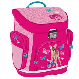 Ghiozdan Animal Planet pentru scoala, roz