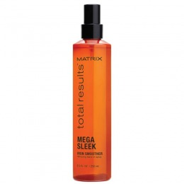 Tratament pentru Par Rebel - Matrix Total Results Mega Sleek Iron Smoother Spray 250 ml