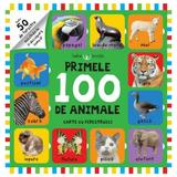 Primele 100 de animale. Carte cu ferestruici, editura Litera