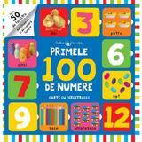 Primele 100 de numere. Carte cu ferestruici, editura Litera