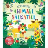 Pictez cu degetele. Animale salbatice - Kate Daubney, editura Litera