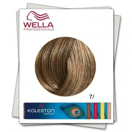Vopsea Permanenta - Wella Professionals Koleston Perfect nuanta 7/ blond mediu pur
