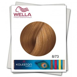 Vopsea Permanenta - Wella Professionals Koleston Perfect nuanta 8/73 blond auriu maro