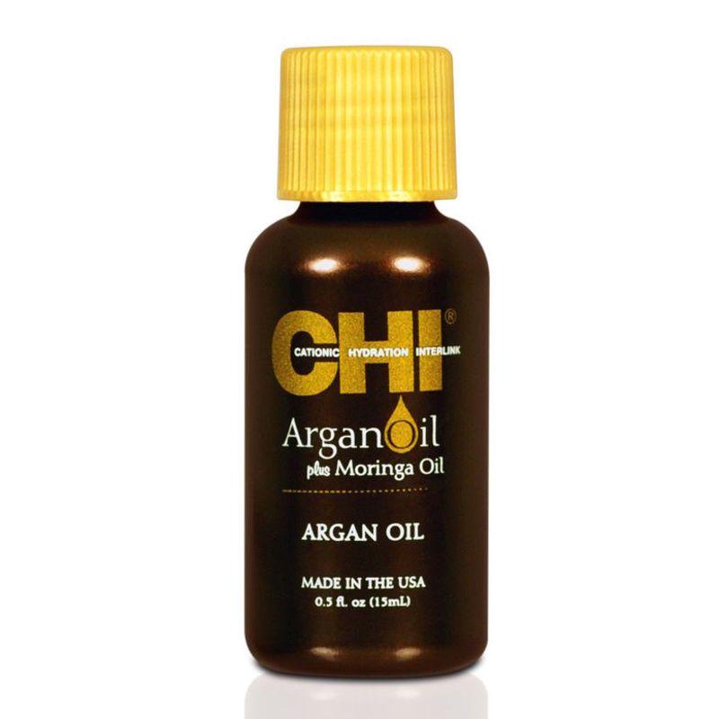 Ser cu Ulei de Argan - CHI Farouk Argan Oil Plus Moringa Oil Serum 15 ml imagine produs