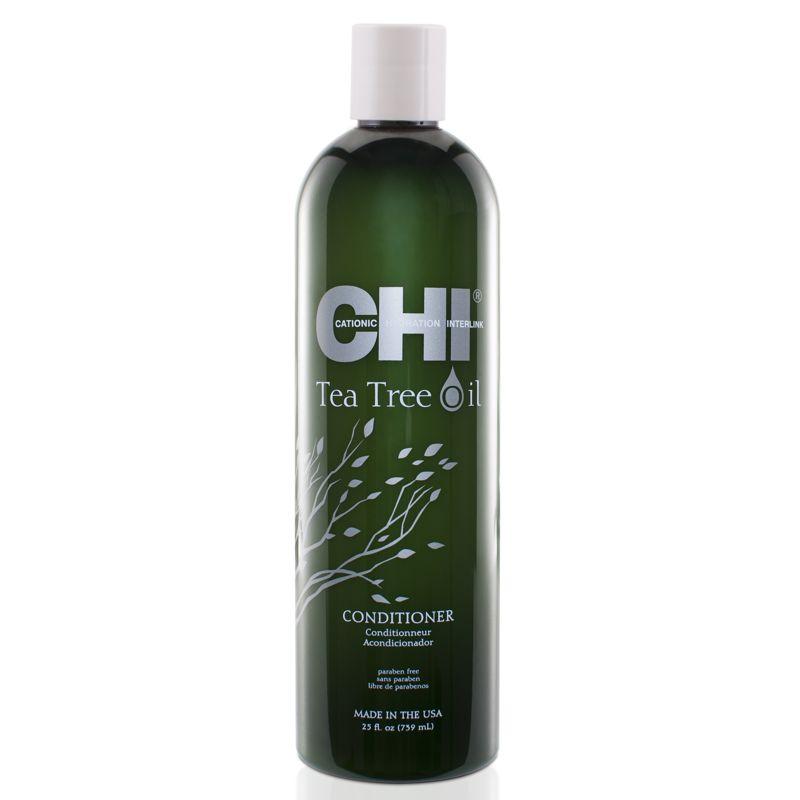 Balsam pentru Scalp Sensibil - CHI Farouk Tea Tree Oil Conditioner 739 ml imagine produs