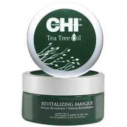 Masca pentru Scalp Sensibil - CHI Farouk Tea Tree Oil Revitalizing Masque 237 ml