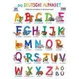 Alfabetul animalelor in limba germana. Plansa, editura Didactica Publishing House