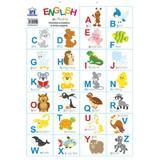 Alfabetul animalelor in limba engleza. Plansa, editura Didactica Publishing House
