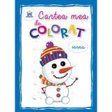 Cartea mea de colorat: Iarna, editura Didactica Publishing House