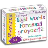 Sight Words. Formeaza propozitii. 100 de jetoane - Fran Bromage, editura Didactica Publishing House