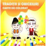 Traditii si obiceiuri Carte de colorat, editura Ars Libri