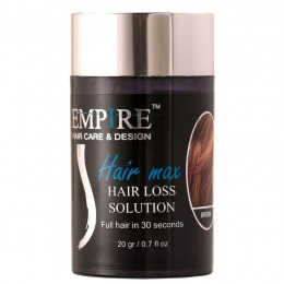 Pudra Par Rarit Saten - Luiza Essence Empire Hair Max Loss Solution Brown Hair 20 gr