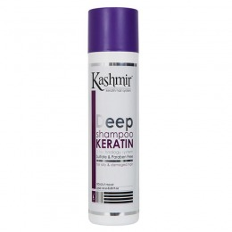 Sampon cu Cheratina pentru Par Gras - Kashmir Deep Keratin Shampoo 250 ml