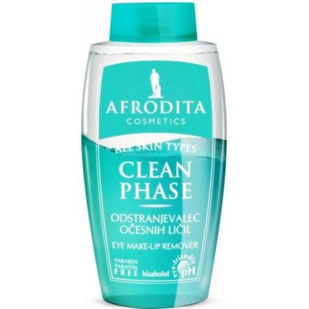 Cosmetica Afrodita - Clean Phase Demachiant Bifazic pentru Conturul Ochilor 125 ml imagine produs