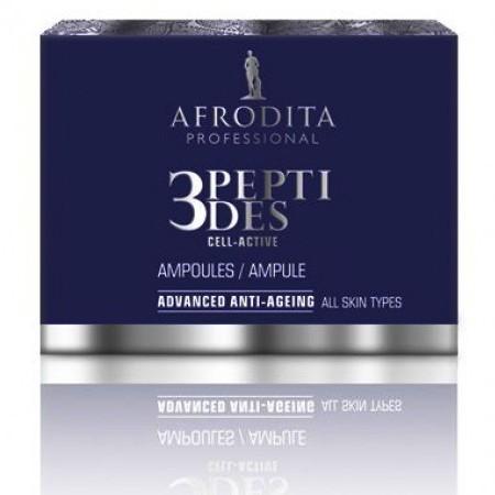 Cosmetica Afrodita - Fiole Anti-Age 3Peptides Cell-Active 5 x 1,5 ml imagine produs